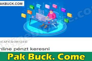 Pak Buck. Come